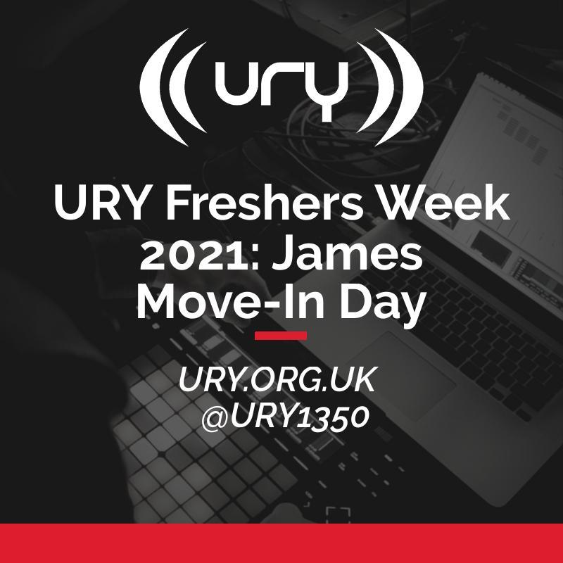 URY Freshers Week 2021: James Move-In Day  logo.