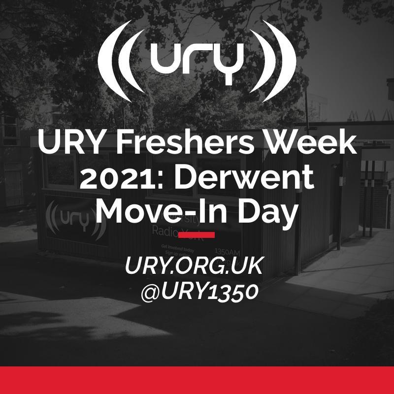 URY Freshers Week 2021: Derwent Move-In Day  logo.