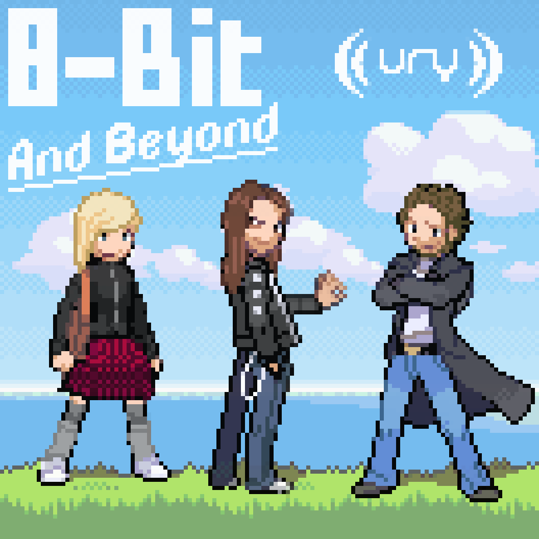 8-Bit and Beyond logo.